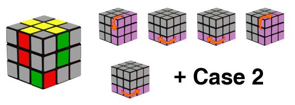 rubiks cube - step2-c3