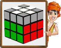 rubiks cube - step4 - obj