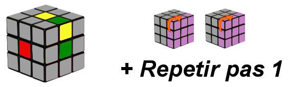 cub de rubik - pas 1-c4