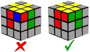cub de rubik - pas 2-1