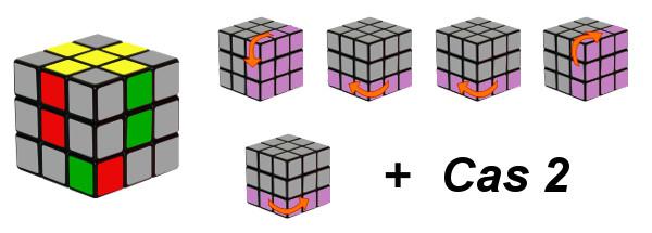 cub de rubik - pas 2-c3