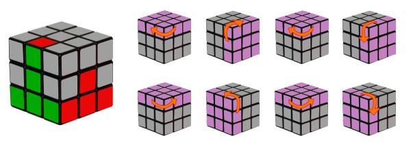 cub de rubik - pas 3-c1