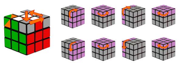 cub de rubik - pas 6-c1