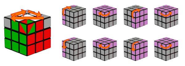 cub de rubik - pas 6-c2