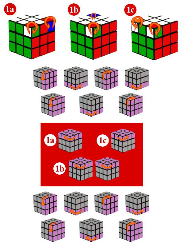 cubo mágico - passo7-c1