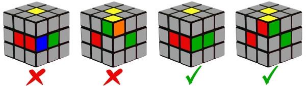 cubo di rubik - passo 0-2