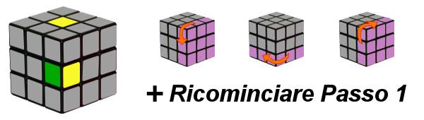 cubo di rubik - passo 1-c3