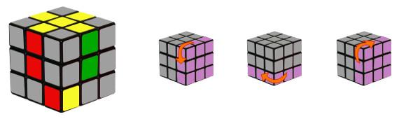 cubo di rubik - passo 2-c2