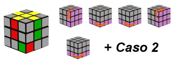 cubo di rubik - passo 2-c3