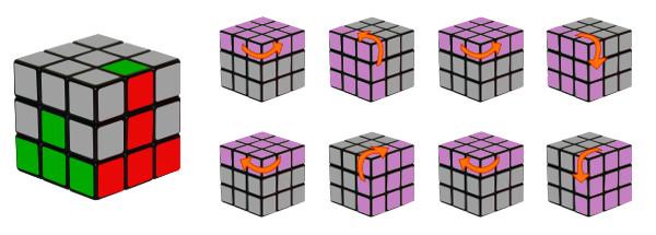 cubo di rubik - passo 3-c2
