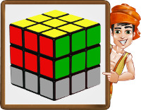 cubo rubik - paso3- obj