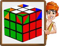 cubo rubik - paso6 - obj