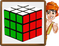 cubo rubik - paso7 - obj