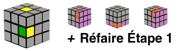 rubiks cube - etape 1-c3