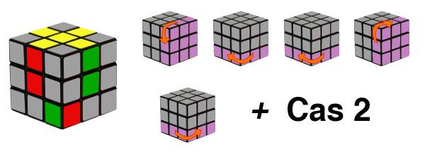 rubiks cube - etape 2-c3