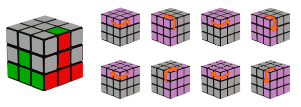 rubiks cube - etape 3-c2