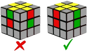 rubiks cube - step1-1