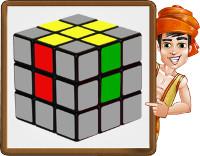 rubiks cube - step1 - obj
