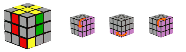 rubiks cube - step2-c2