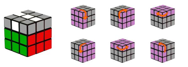 rubiks cube - step4-c2