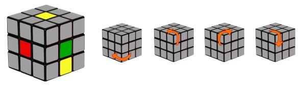 rubiks kube - trinn1-c2