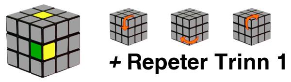 rubiks kube - trinn1-c3